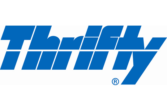 Thrifty logo italian news and travel information hmc consultancy